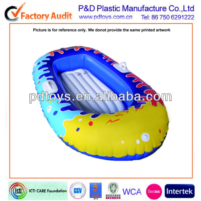 colorful inflatable kids play boat, Inflatable kid boat, Inflatable small boat