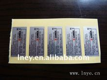 UL recognized computer printing Label cheap custom printing label strong adhesive custom printed labels