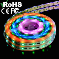 114kinds effects!!! powerful DMX magic led strip RGB for project