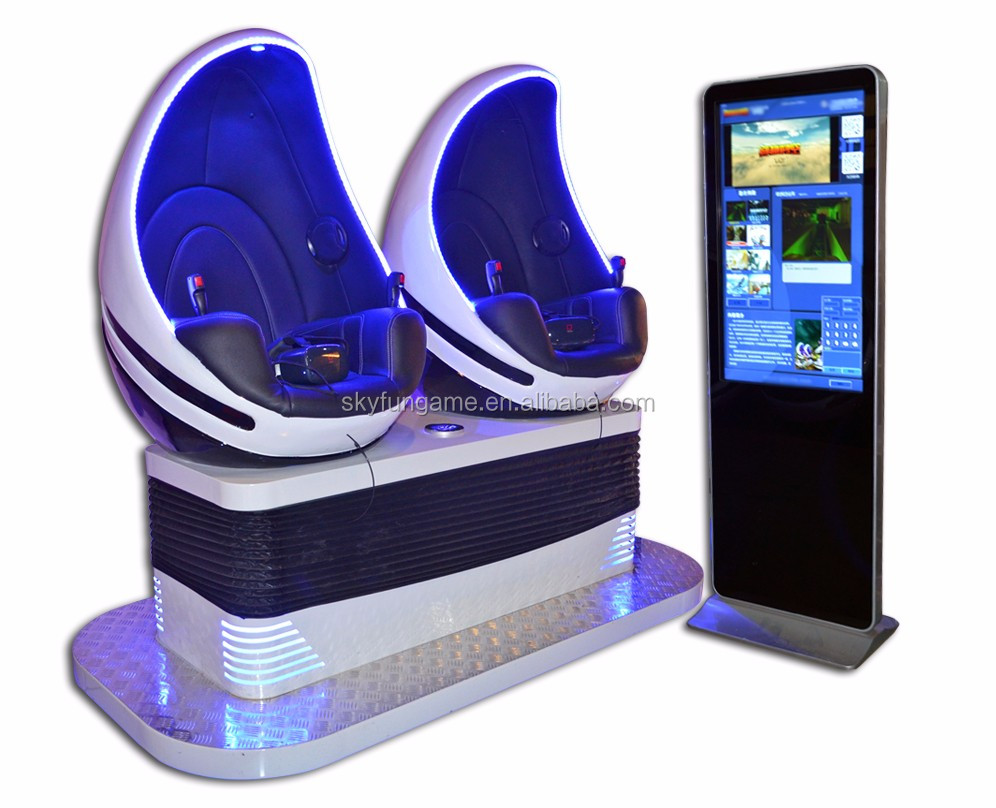 Attractive and fashion 1 year warranty speriod double seats 9d vr Cinema equipment amusement ride