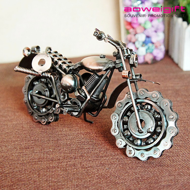 Creative Cool Metal Motorcycle Artifact Decorative Accessory Vehicle Motorcycle Model