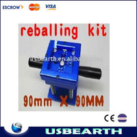 New BGA Reballing station Reballing Kit,+ stencils 128pcs(90mmx90mm), For BGA rework(80mmx80mm),BGA Reball Station