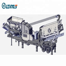 Small Mobile Construction Waste Concrete Crusher Plant Price