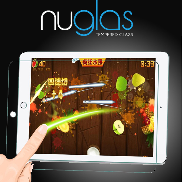 shenzhen factory NUGLAS design new products dull polish screen protector for ipad 2 3 4 air air 2