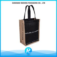 Ruiding China Products Wholesale Custom Cheap Eco Jute Shopping Bag With Handle