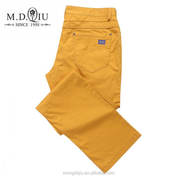 OEM service supply type newest style fancy cotton pants for men