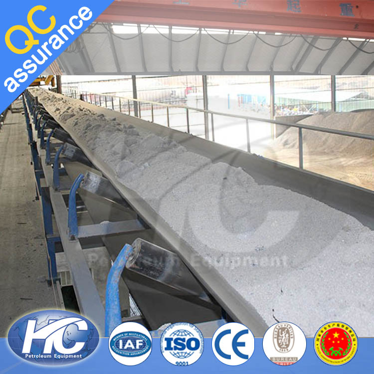 Custom made coal/ cement/ fertilizer rubber belt conveyor machine for sale