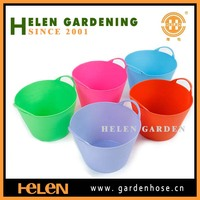 house PE tub, garden PE tub, fish holding tub mop bucket with wheels