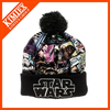 sublimation printing logo beanie knit ski hat