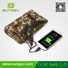 Traveller, your trip's companion! Customize yourself solar panel bag, Folding solar bag travel charger for all phones