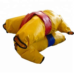 kids and adults foam padded inflatable sumo wrestling costume sumo suit sport game with high quality