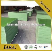 18mm poplar core green film faced plywood/waterproof plastic film faced plywood for construction/shuttering plywood
