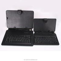 "Universal PU Leather Folio Stand Case Cover Tablet Keyboard Case for 7"" 10"" Tablet"