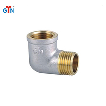 Manufacturer forged pipe fittings brass screw joint ART054NH elbow fitting