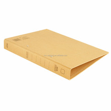 custom strong and durable kraft paper A4 file folders/lever arch file