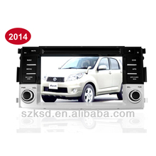 2014 Toyota Rush car multimedia with GPS/DVD/TVUSB/SD/AM/FM/IPOD/BLUETOOTH