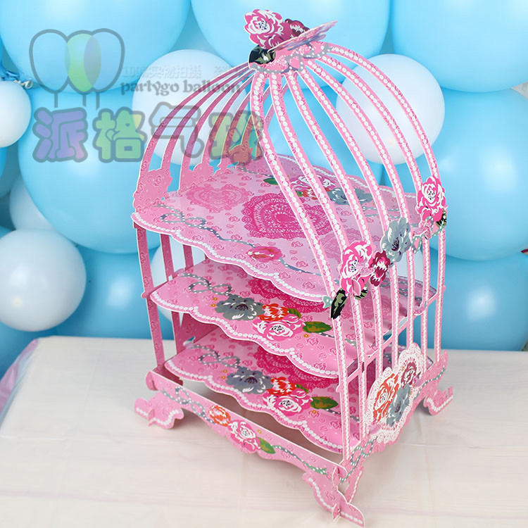 Birdcage Cake Stand Wholesale