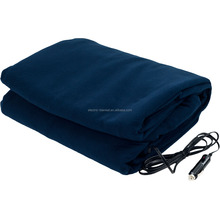 heated fleece travel electric blanket 12V
