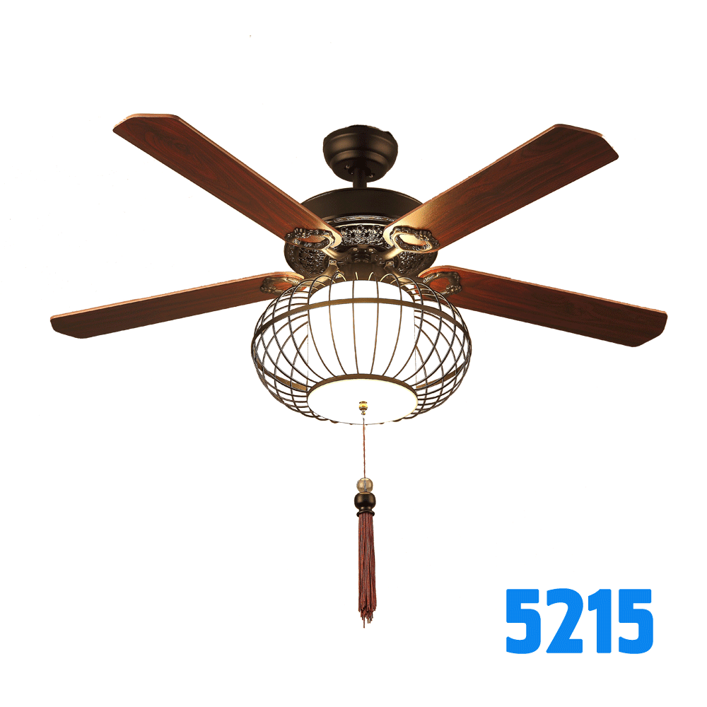52 56 Inch Oriental Lantern Decorative Lighting Ceiling Fan