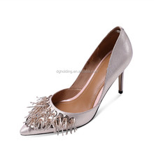 womens Rhinestone High Heels Pointed-toe Stiletto wedding Pumps shoes