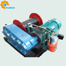 high speed dc 12v/24v electric winch used hydraulic winch rope