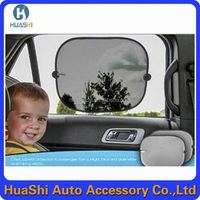 Static cling spring car front window sunshade