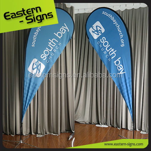 Outdoor Events Promotion Decoration Sail Flags