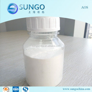 Detergent Chemical Sodium Alpha Olefin Sulfonate AOS 92%
