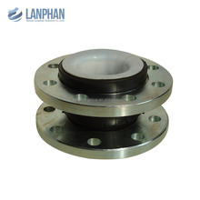 anti abrasion carbon steel flange ptfe lining rubber expansion joint