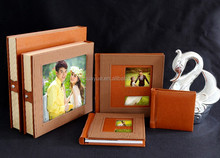 IC-A16 Leather Wedding Album Cover