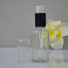 large glass bottle pump spray glass bottle airless glass bottle