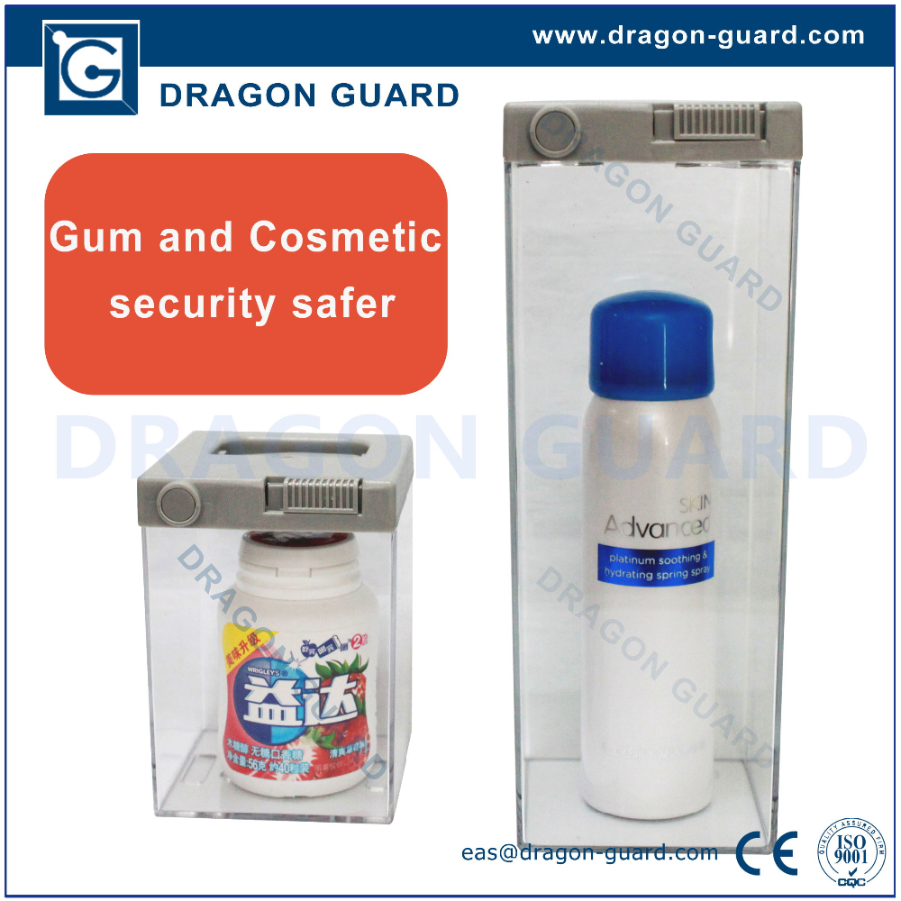 DRAGON GUARD anti theft cosmetic safer eas anti-theft alarm safer gum/cachou/battery alarm safer
