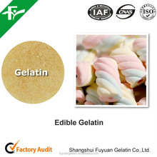 Best Quality edible skin gelatin for confectionery and ice cream