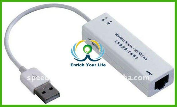 Mini USB wireless wifi router + wireless network card for desktop pc laptop