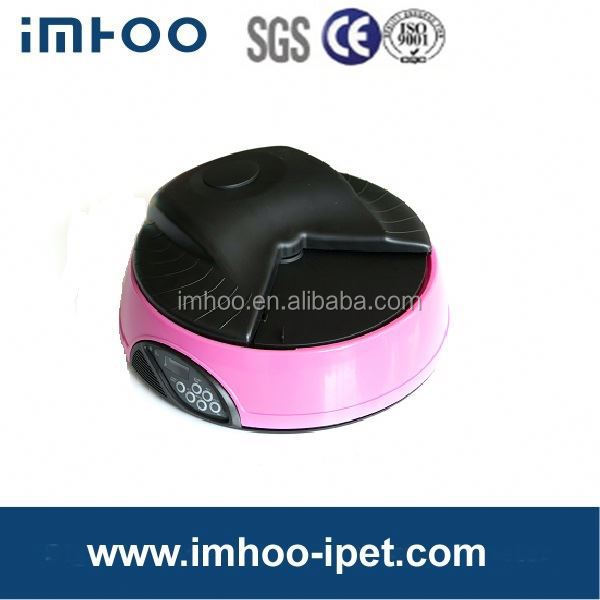 Very Popular Battery power Automatic Pet Feeder IPET-F08A automatic poultry feeder for broiler and breeder