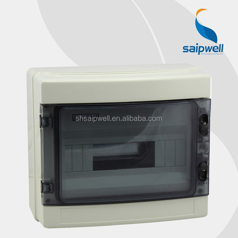 Saip / Saipwell High Quality Waterproof Electrical Circuit Breaker Box with CE Certification 1WAY~24WAY