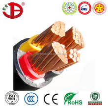 Manufacture Price 0.6/1kV PVC sheathed copper VV power cable