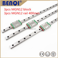 12mm linear guide hiwin mgn12-400mm 3d printer parts