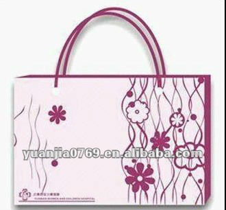 Dongguan Manufacture Recyclable Paper Shopping Bag
