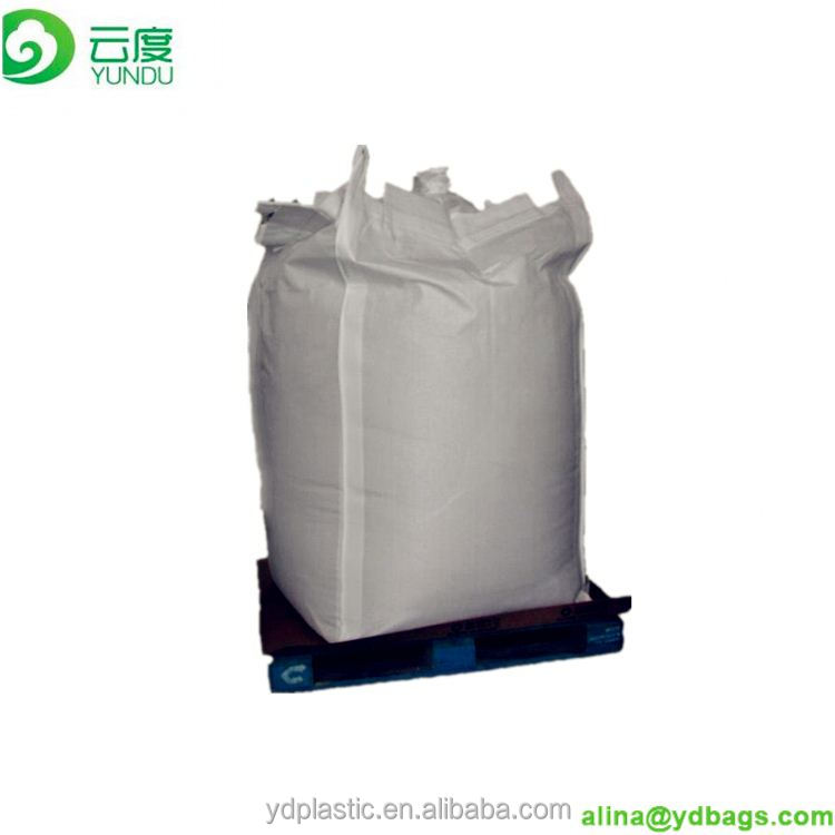 Hot sale china high quality PP woven FIBC big super sack bag, bulk container ton sand bag