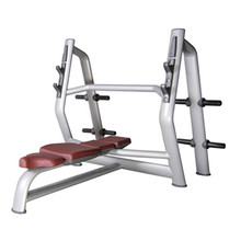 Flat Bench Press / Weight lifting / <strong>Plate</strong> loaded machine