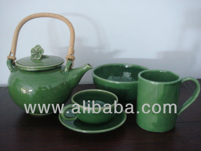 Ceramic Coffee and Tea Set