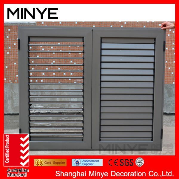 adjust aluminum shutter with windows/louver window/China windows
