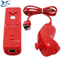 Joystick Wii Remote and Nunchuck Controller for Nintendo Wii gamepad
