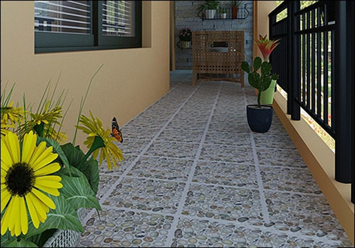 Anti-slip 300x300mm Ceramic Tile