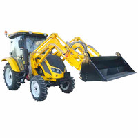 High Quality Tractor Machine Agricultural Farm Equipment,65hp Wheel Tractor With Front Loader