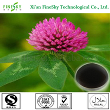 100% natural red clover extract isoflavones for antibiotic