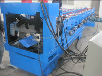 Copper Metal Roof Cap Flashing Roll Forming Machine/ Roof Tile Ridge Cap Flashing Making Machine