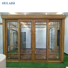 OULAISI Top Quality Simlple Design Aluminum Alloy Tempered Glass Sunroom with Factory Price
