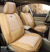 Environment Friendly Non peculiar smell abrasion proof and scratch resistant leather car seat cover for Haval M1